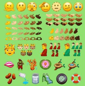 novos _emojis